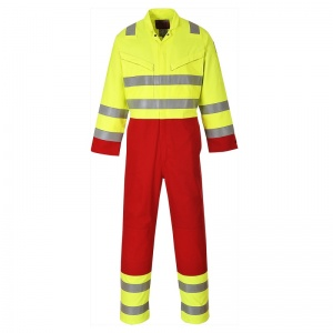 Portwest FR90 High-Vis Bizflame Plus Utility Coveralls