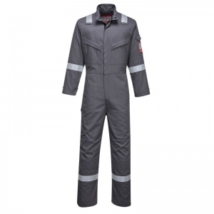 Portwest FR93 Grey Bizflame Ultra PPE Coveralls
