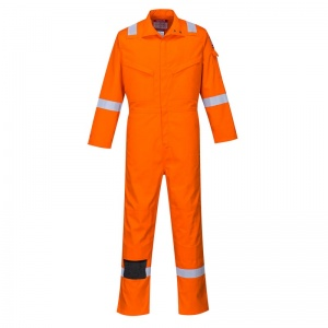 Portwest FR93 Orange Bizflame Ultra PPE Coveralls