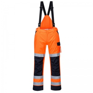 Portwest MV71 Orange Modaflame Rain PPE Arc Flash Trousers