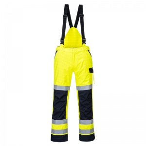Portwest MV71 Yellow Modaflame Rain PPE Arc Flash Trousers