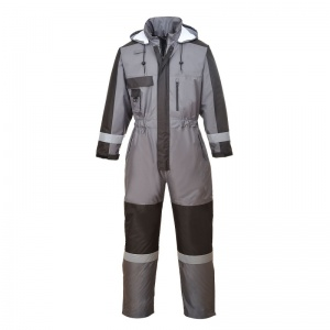 Portwest S585 Grey Winter Coveralls