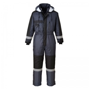 Portwest S585 Navy Winter Coveralls