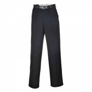 Portwest S710 Black Office Trousers