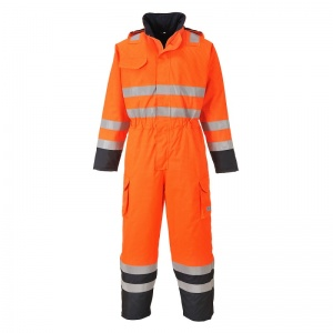 Portwest S775 Orange Bizflame Rain Multi-Hazard Oil and Gas Coveralls