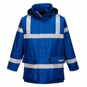 Portwest S785 Blue Bizflame Rain Multi-Hazard Outdoor Jacket