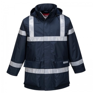 Portwest S785 Navy Bizflame Rain Multi-Hazard Outdoor Jacket