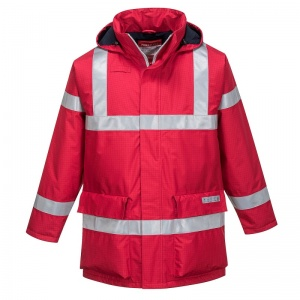 Portwest S785 Red Bizflame Rain Multi-Hazard Outdoor Jacket