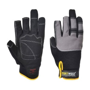 Portwest A740BK Powertool Pro Black High Performance Gloves