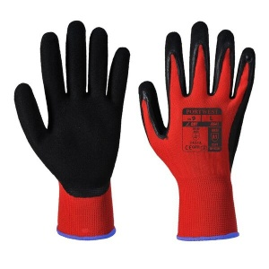 Portwest A641 Red PU Coated Gloves