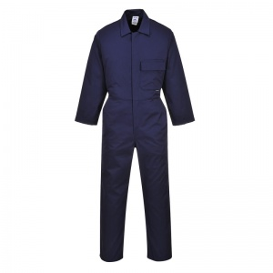 Portwest 2802 Navy Standard Coveralls with Chest Pocket
