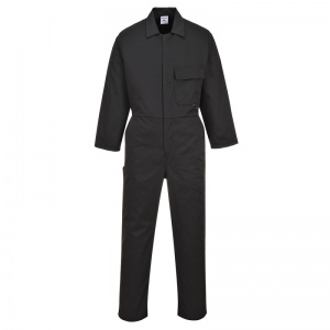 Portwest C802 Black Standard Workwear Jumpsuit
