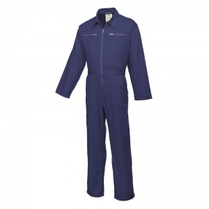 Portwest C811 Navy Cotton Boiler Suit