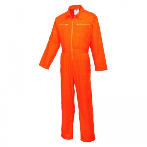 Portwest C811 Orange Cotton Boiler Suit