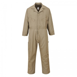 Portwest C812 Khaki Dubai Coveralls with Pockets