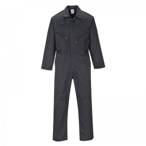 Portwest C813 Black All-Purpose Coveralls