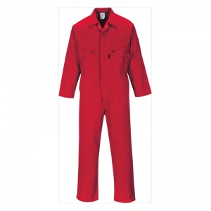 Portwest C813 Red All-Purpose Coveralls