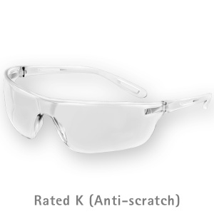 JSP Stealth 16G Clear Anti-Scratch Safety Goggles