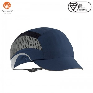 JSP Aerolite Navy HardCap with Micro Peak