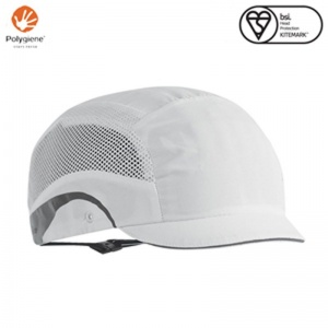 JSP Aerolite White HardCap with Micro Peak