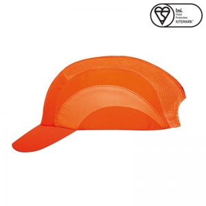 JSP Hi-Vis Orange A1+ Short Peak Hardcap