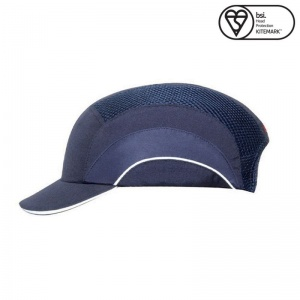 JSP Navy A1+ Short Peak Hardcap