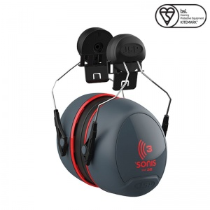 JSP Sonis 3 Helmet 36dB Mounted Ear Defenders