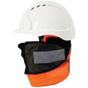 JSP Hi-Vis Orange Thermal Helmet Warmer for Rail GO/RT RIS-3279