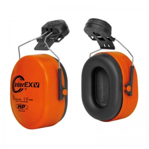 JSP InterEXV Orange Ear Defenders SNR 28dB