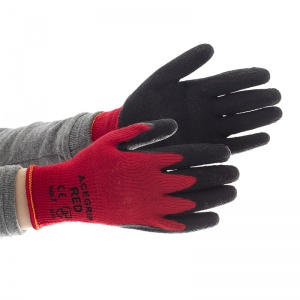 AceGrip Red General Purpose Lightweight Latex-Coated Gloves