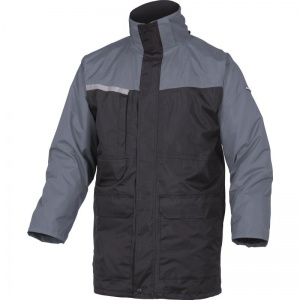 Delta Plus ALASKA2 Black and Grey 2 in 1 Waterproof Parka