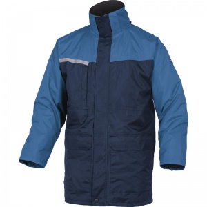 Delta Plus ALASKA2 Navy Blue 2 in 1 Waterproof Parka