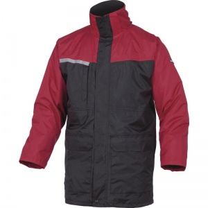 Delta Plus ALASKA2 Black and Red  2 in 1 Waterproof Parka