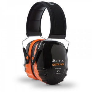 Alpha Solway Sota H5 34dB Padded Ear Defenders
