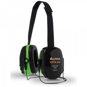 Alpha Solway Sota N4 High Attenuation 32dB Ear Defenders