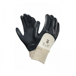 Ansell Edge 40-400 3/4 Nitrile Dipped Utility Gloves