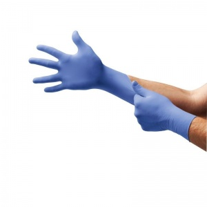 Ansell Microflex 93-823 Disposable Accelerator-Free Nitrile Gloves