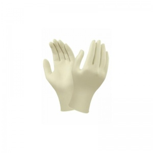 Ansell TouchNTuff 69-318 Disposable Natural Rubber Latex Gloves