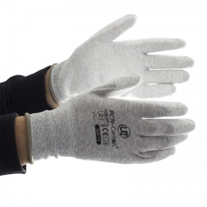 UCi PCN-Carbon PU Coated Anti-Static Gloves