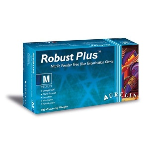 Aurelia Robust Plus 63885-9 Nitrile Medical Precision Gloves