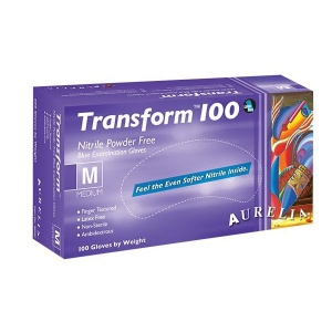 Aurelia Transform 100 9889A5-9 Nitrile Precision Examination Gloves