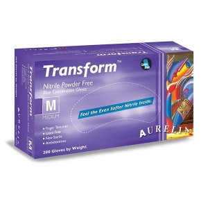 Aurelia Transform 98895-9 Nitrile Medical Examination Gloves
