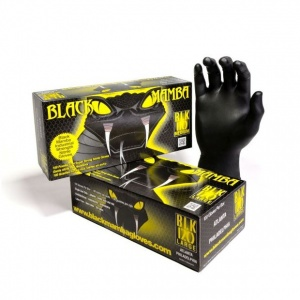Black Mamba Tough Disposable Nitrile Gloves BX-BMG