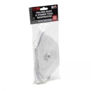 Blackrock FFP2 Fold Flat Valved Disposable Respirator (Pack of 2)