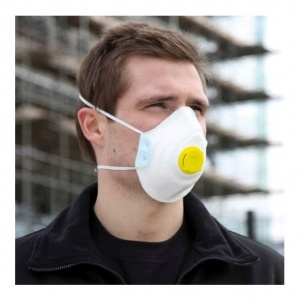 Blackrock FFP2 Moulded Valved Disposable Respirator (Pack of 2)