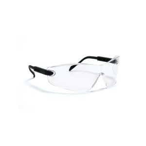 Blackrock Clear Safety Glasses with Curved Arm Adjust