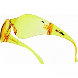 Bollé Bandido Yellow Lens Safety Glasses with Adjustable Cord BANPSJ