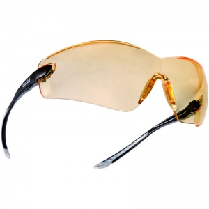 Bollé Cobra Yellow Lens Wraparound Safety Glasses COBPSJ