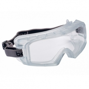 Bollé Coverall Clear Sealed Safety Goggles COVERSI