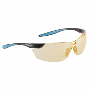 Bollé Mamba Yellow Lightweight Safety Glasses MAMPSJ
